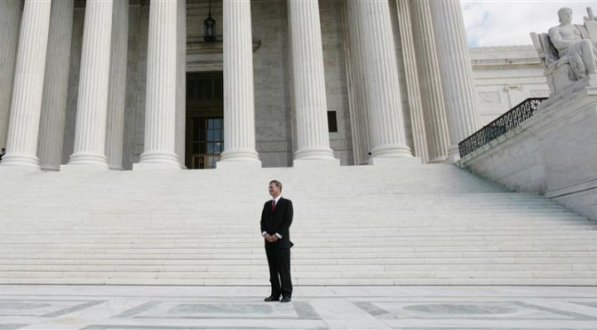 Small-business legal group urges Supreme Court to hear property case
