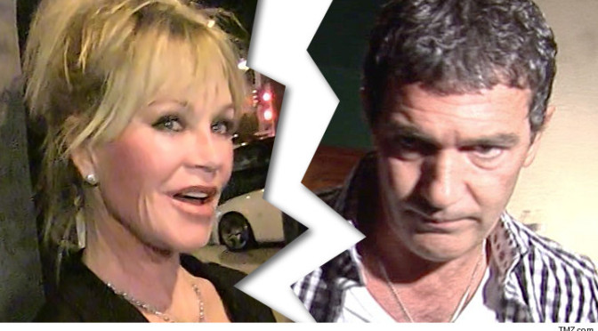 MELANIE GRIFFITH, ANTONIO BANDERAS DIVORCE FINAL He Keeps 'Zorro' Money, They Split 'Shrek' Cash