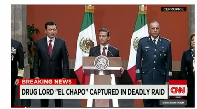 'Mission accomplished': Mexican President says 'El Chapo' caught