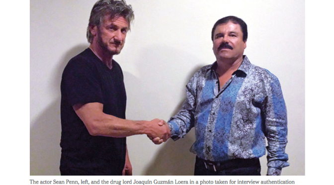 Sean Penn Secretly Interviewed 'El Chapo,' Mexican Drug Lord