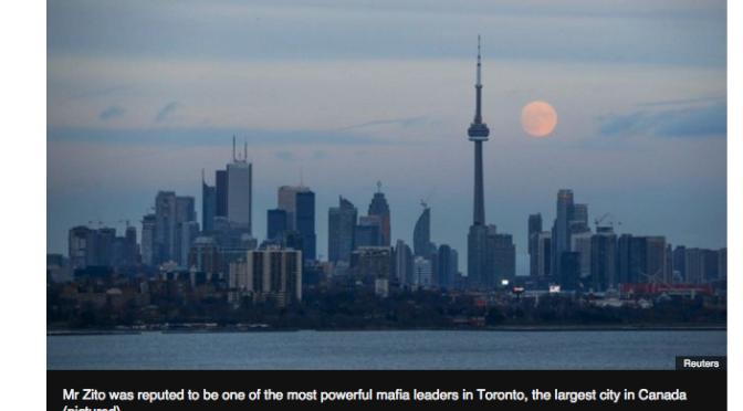 Canada ex-mafia boss Rocco Zito shot dead in Toronto