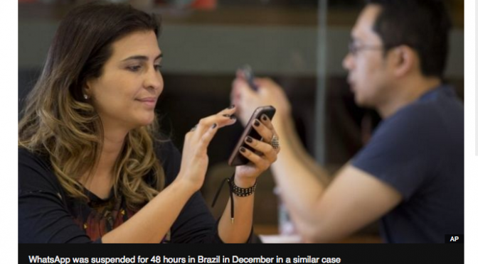 Brazil Facebook head arrested for refusing to share WhatsApp data