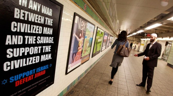 MTA's ban anti-Muslim ads on subway is legal, court rules