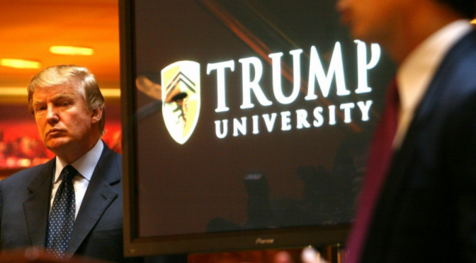 Trump University case will go to trial