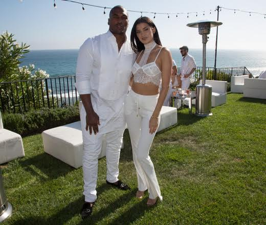 Larry English (San Diego Chargers) and girlfriend Nicole Williams (E! WAGS)