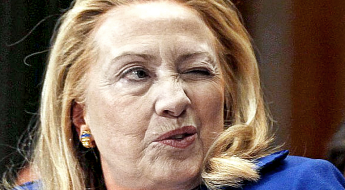 Hillary is Disqualified from Holding Any Federal Office – Based On The Law