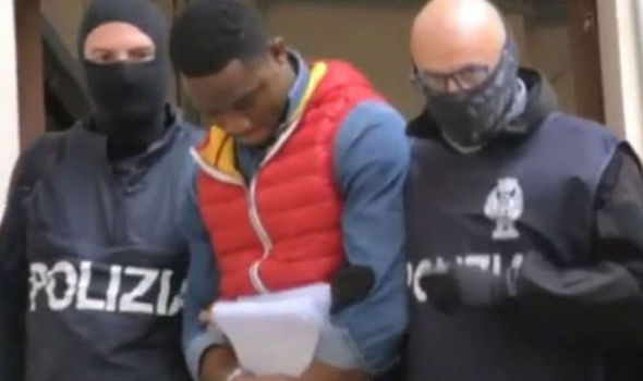 THE BLACK AXE: Italy faces chilling new organised crime group MORE RUTHLESS than the mafia