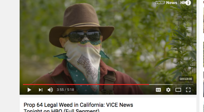 Prop 64 Legal Weed in California: VICE News Tonight on HBO (Full Segment)