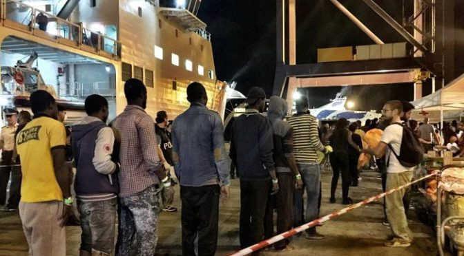 Italy's anti-mafia squad in overdrive as asylum seekers flood into Europe