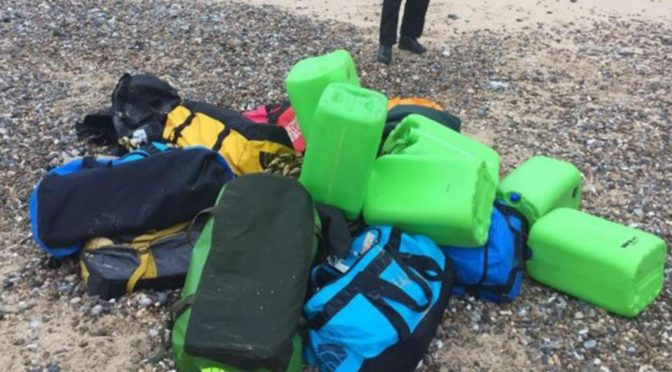Cocaine worth £50m washes up on Norfolk beaches