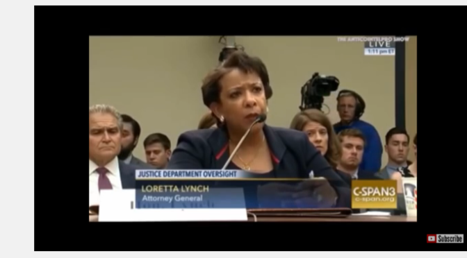 "Trey Gowdy Obliterates AG Loretta Lynch For Lying ""You're Under Oath Remember"""