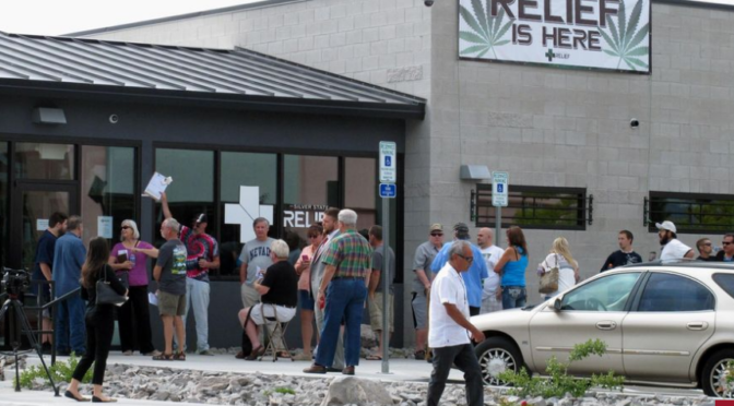 Marijuana dispensaries may begin recreational sales in Nevada starting July 1: Report
