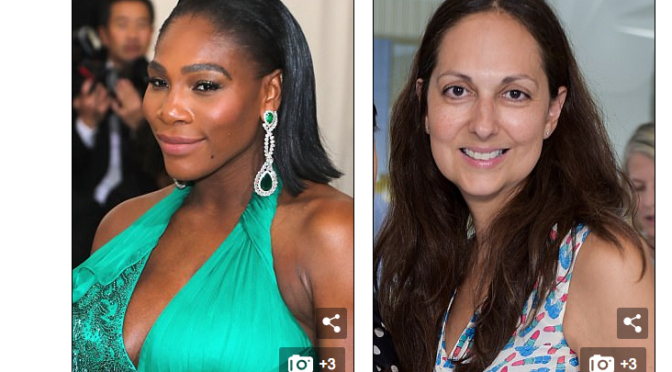 Luxury Italian shoe firm Gianvito Rossi accused of refusing to give Serena Williams a celebrity discount because 'the company did not want African American women to wear its shoes'
