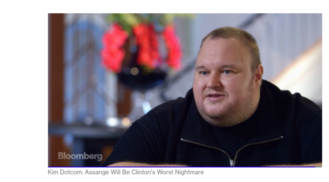 #TBT 2015 Kim Dotcom on Julian Assange and on Hillary Clinton VIDEO