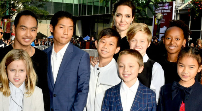 "Angelina Jolie Reveals How The Kids Are Since The Divorce: ""Happy And Light, We Needed That"""