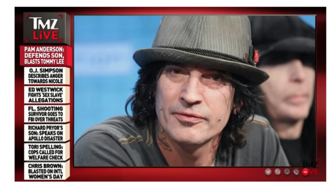 Pam Anderson: Tommy Lee Got Punched As Payback For All the People He Hurt