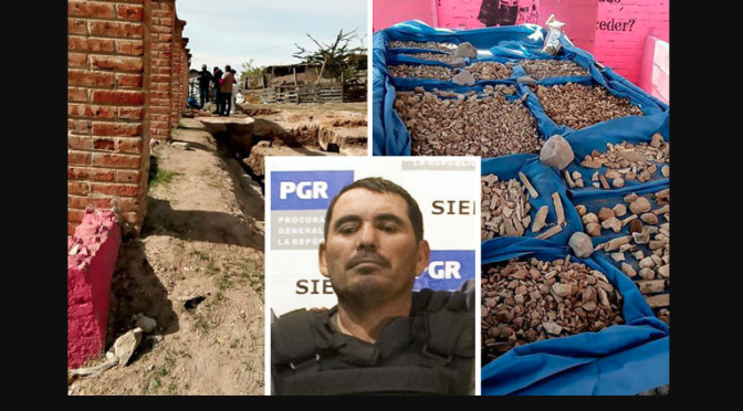 Cartel gangster 'The Stew Maker' dissolved as many as 650 people in ACID