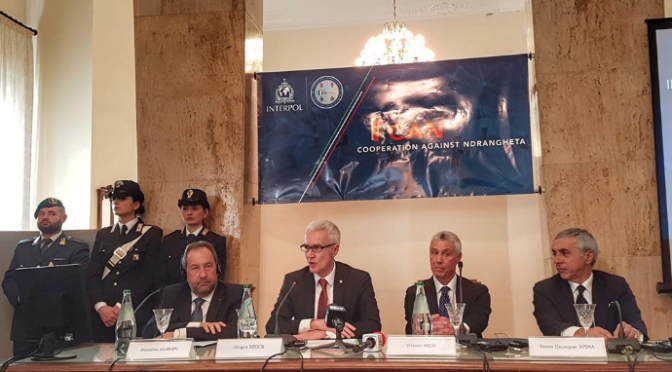 Global Project Launched to Crack Down on 'Ndrangheta and Mafia Crime