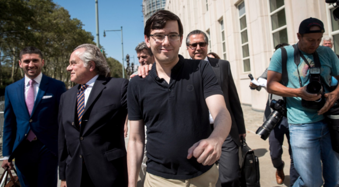 Convicted 'pharma bro' Martin Shkreli wants early release to work on coronavirus cure